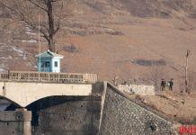 청수 청수구 평안북도 국경경비대 하전사 압록강