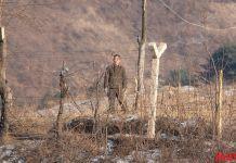 청수 청수구 평안북도 국경경비대 하전사 신의주 군인