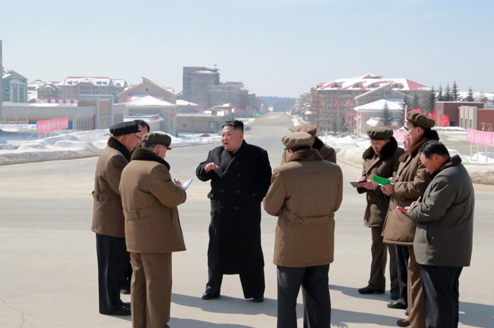 김정은 삼지연 방문