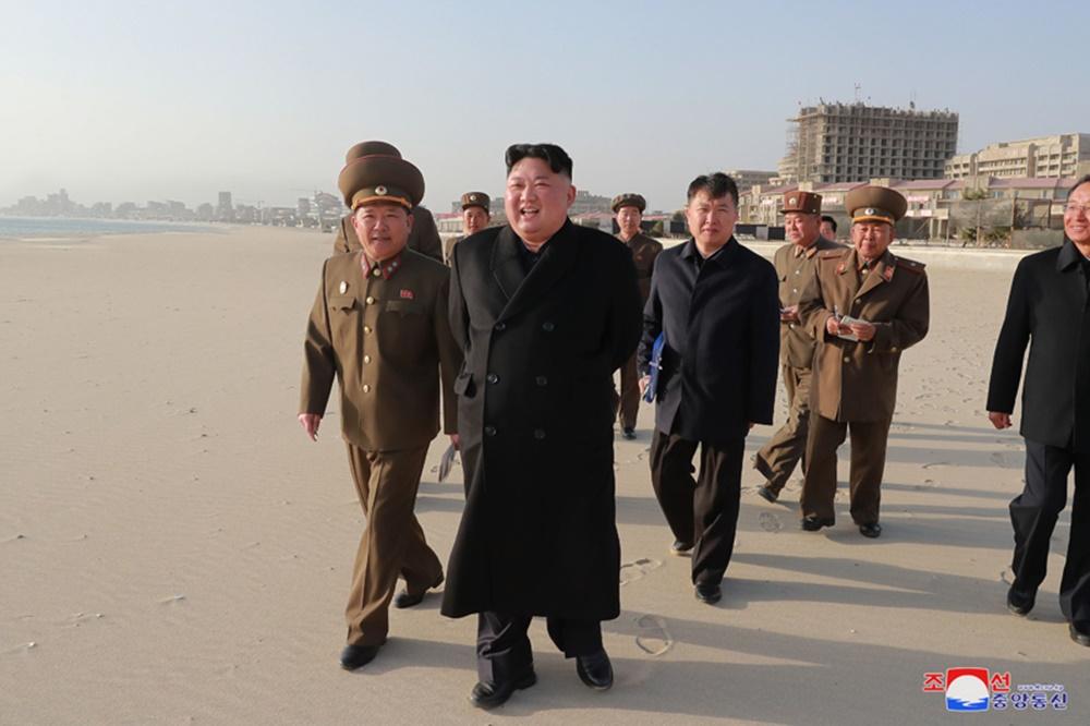 김정은 원산 방문
