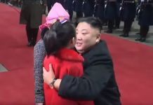 김정은 베트남 귀환 화동