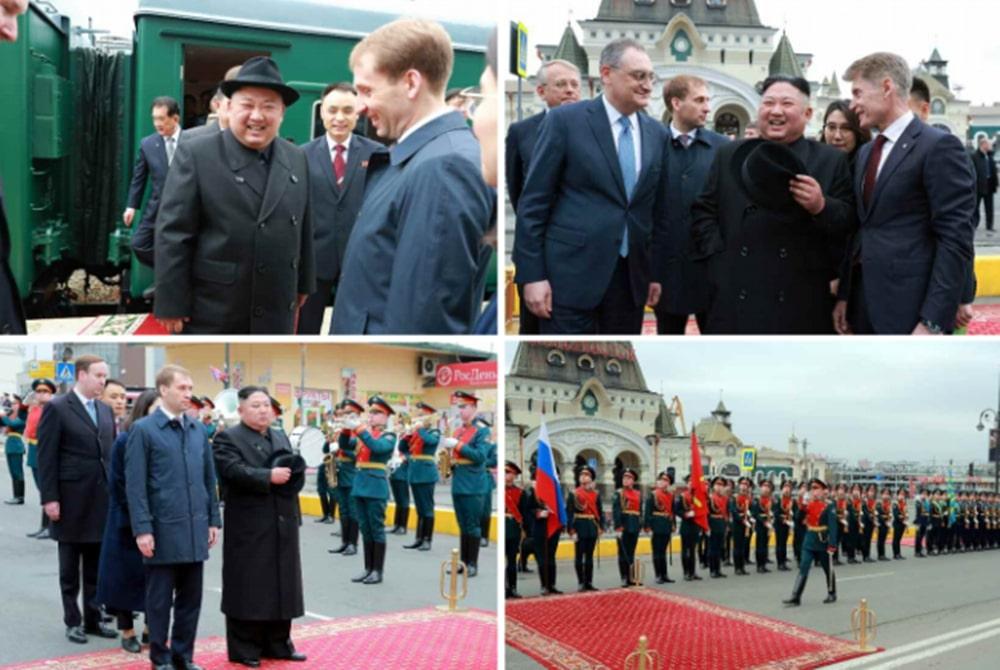 김정은 러시아 방문