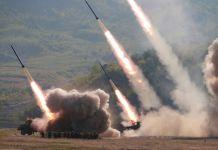 서부전선방어부대 화력타격훈련