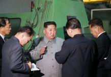 김정은, 강계트락또르공장