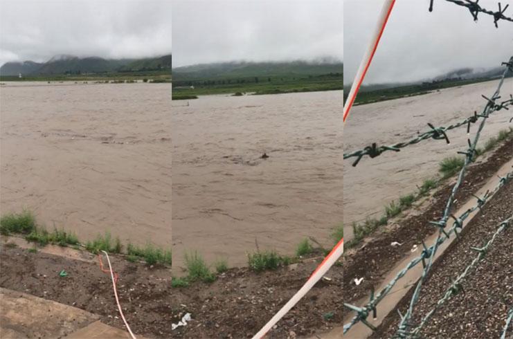 두만강 홍수