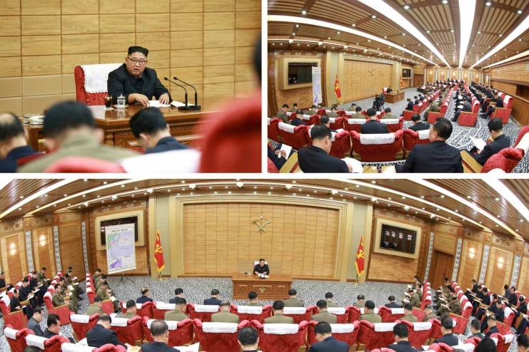 중앙군사위원회 비상확대회의
