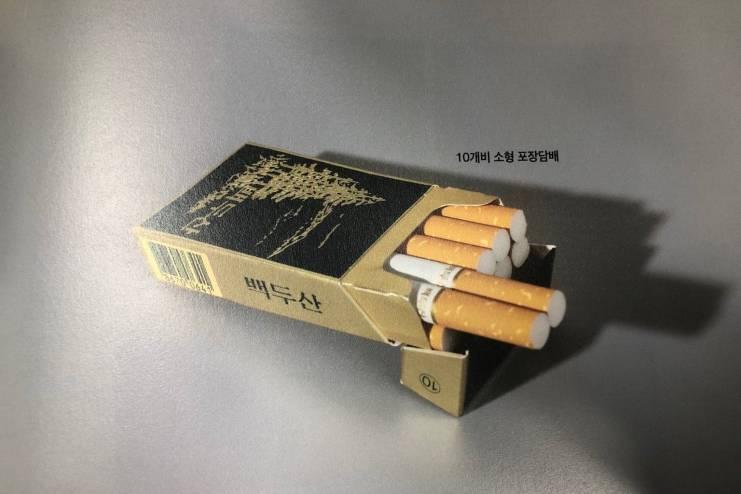 북한 담배