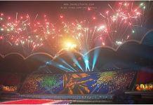 북한전승절 기념 아리랑 공연