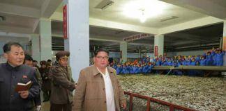 김정은 수산사업소