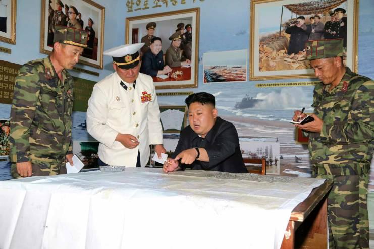 김정은 해군
