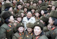 김정은 5292군부대 여성중대