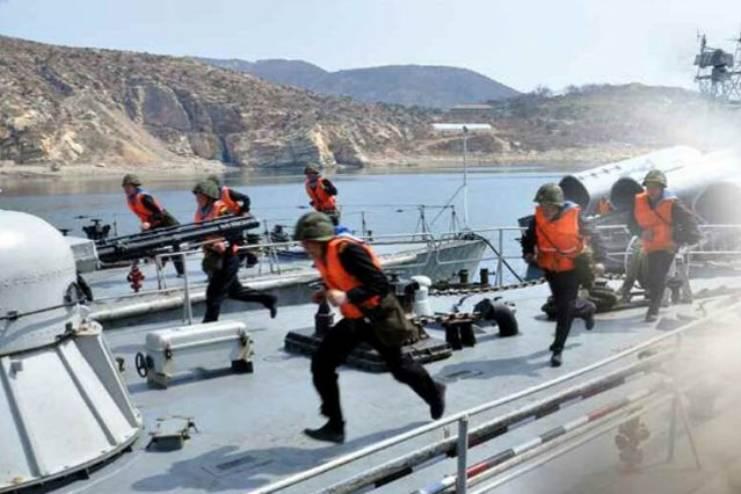 북한 해군