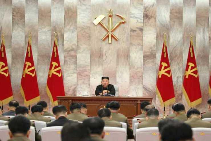 김정은 당중앙군사위원회 회의 당중앙군사위원회 회의 주재