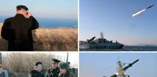 북한 함대함미사일 발사