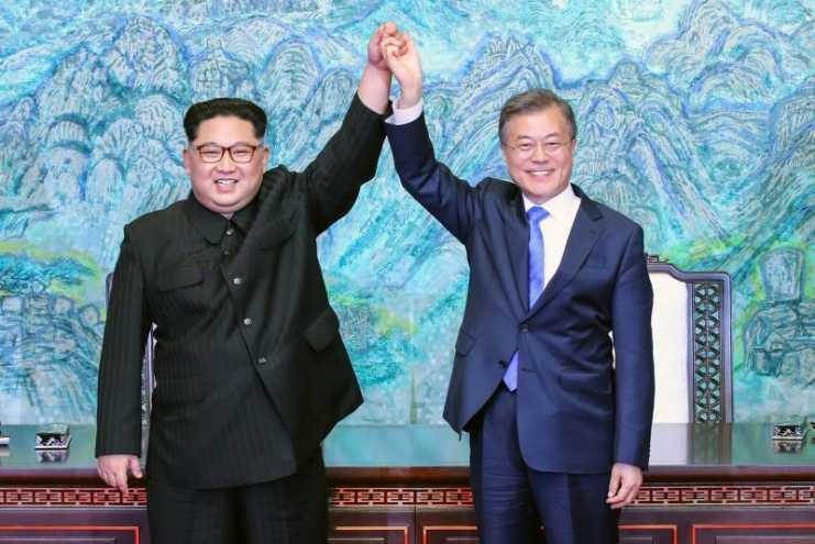 Ceremonia de firma de declaración conjunta