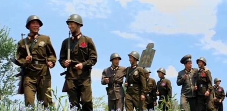 북한군 훈련