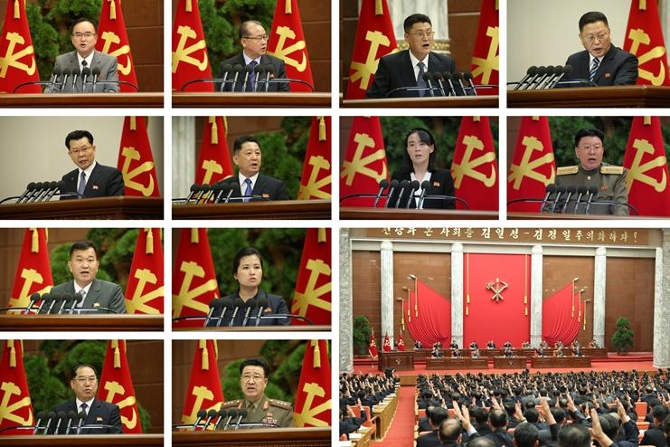 김정은 8기 2차 정치국